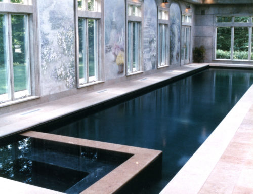Indoor Residential Lap Pool in Ridgefield, CT