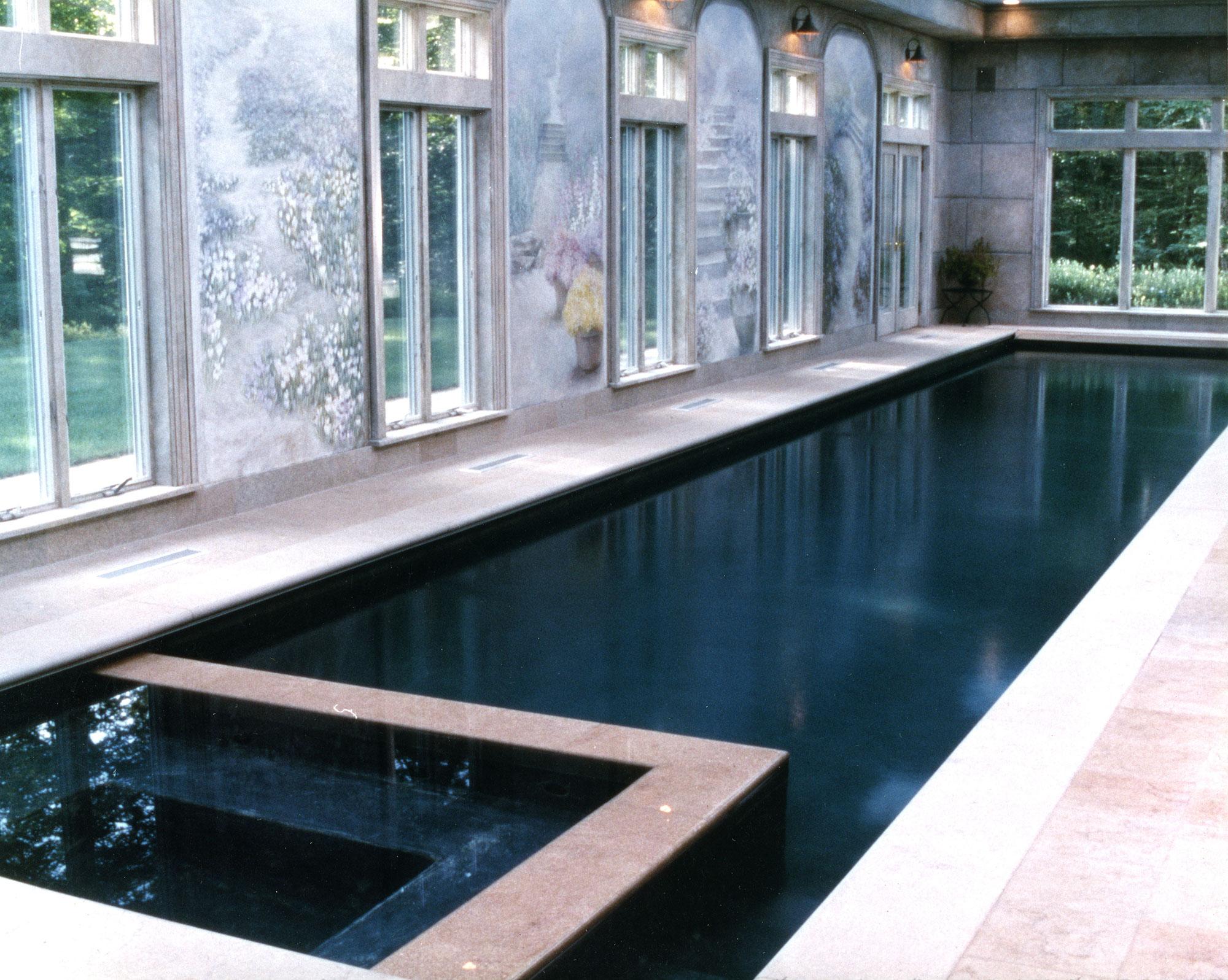 JJ Pool - Indoor Residential Lap Pool in Ridgefield, CT
